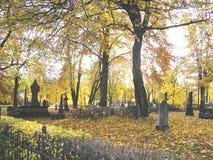 Trondheim. In Norway storic cemetery Stock Photo