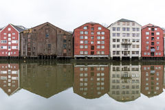 Trondheim in Norway Stock Image