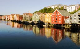 Trondheim Norwegen Lizenzfreies Stockbild
