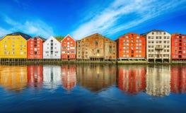 Trondheim, Norwegen Stockfotos