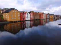 Trondheim, Norwegia Zdjęcie Stock