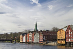 Trondheim Royalty Free Stock Image