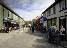Trondheim street scene Royalty Free Stock Images