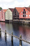 Trondheim view 3. A view of Trondheim, norway Royalty Free Stock Photo