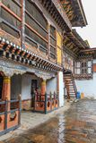 Trongsa, Bhutan - 13. September 2016: Innenansicht von Trongsa Dzong, einer des ältesten Dzongs in Bumthang, Bhutan stockbild