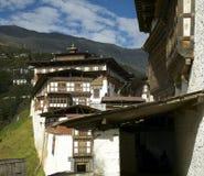 Trongsa Dzong Obraz Royalty Free