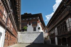 Trongsa Dzong, Trongsa, Bhután Fotos de archivo libres de regalías