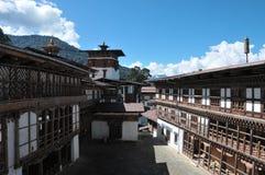 Trongsa Dzong, Trongsa, Bhután Foto de archivo libre de regalías
