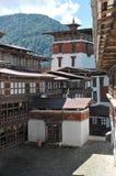 Trongsa Dzong, Trongsa, Bhutan Obraz Stock