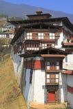 The Trongsa Dzong Royalty Free Stock Photos