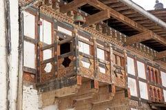 Trongsa Dzong, Trongsa, Бутан стоковые фотографии rf