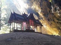 Trono antigo tailandês Salão imagens de stock royalty free