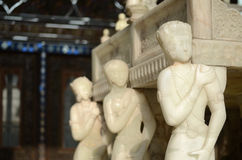 Trono de mármol imagenes de archivo