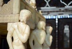 Trono de mármore Imagem de Stock