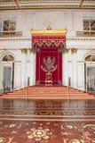 Trono del zar St Petersburg Fotos de archivo libres de regalías