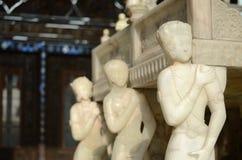 Trono di marmo Immagini Stock