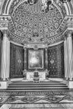 Trono pequeno Salão, museu de eremitério, St Petersburg, Rússia foto de stock royalty free