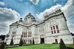 Trono Salão de Ananta Samakhom Imagem de Stock