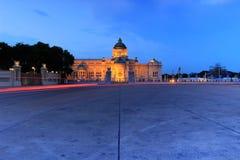 Trono Salão de Ananta Samakhom Foto de Stock Royalty Free