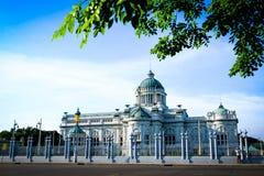 Trono Salão de Ananta Samakhom Fotos de Stock