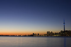 Tronto Skyline at night Stock Images