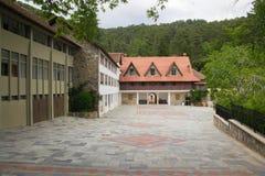 Trooditissa修道院 库存照片