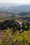 Troodos mountains Stock Photography
