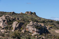 Troodos Mountains in Cyprus Royalty Free Stock Photography