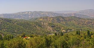Troodos Mountains, Cyprus stock photography