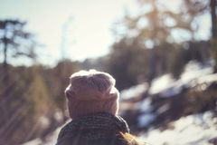 Troodos-Naturlehrpfade Lizenzfreie Stockfotos