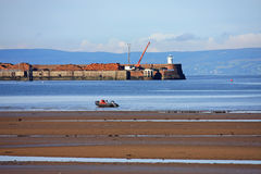 Troon Harbour Stock Images
