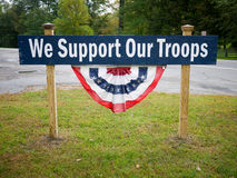 Troop Support Royalty Free Stock Image
