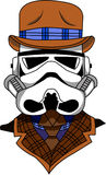 Trooper vector Royalty Free Stock Photography