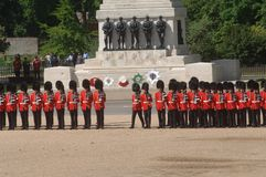 Trooping the Colour, Royalty Free Stock Images