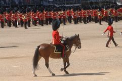 Trooping the Colour, Royalty Free Stock Photos