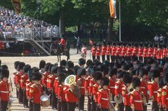 Trooping the Colour, Stock Image