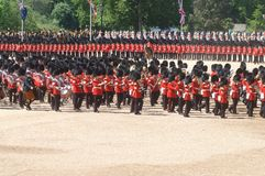 Trooping the Colour, Royalty Free Stock Image