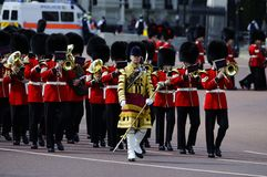 Trooping the Colour, London 2012 Stock Images