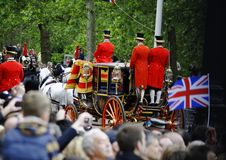 Trooping the Colour, London 2012 Stock Photos