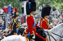 Trooping the Colour, London 2012 Royalty Free Stock Photo