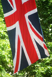 Trooping of The Colour London England. Abstract Union Jack Flag in The Mall London England Stock Images