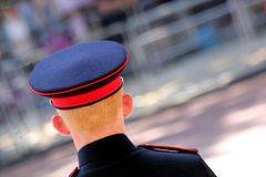 Trooping The Colour 2017 London England. British Soldier in The Mall London England Royalty Free Stock Photos