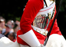 Trooping The Colour 2017 London England. The Household Cavalry Mounted Regiment in The Mall London England Royalty Free Stock Photo
