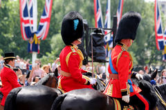 Trooping The Colour 2017 London England. HRH Price Charles in The Mall London England Stock Photo