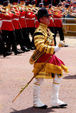 Trooping The Colour 2017 London England. Marching Guardsmen in The Mall London England Royalty Free Stock Photo