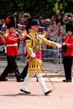 Trooping The Colour 2017 London England. Marching Guardsmen in The Mall London England Stock Images
