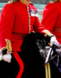 Trooping The Colour 2017 London England. Mounted Guardsman in The Mall London England Stock Photo