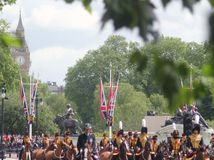 Trooping Of The Colour Royalty Free Stock Image