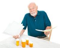 Trop de dépenses médicales Photo stock