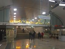 Troparyovo地铁车站 库存图片